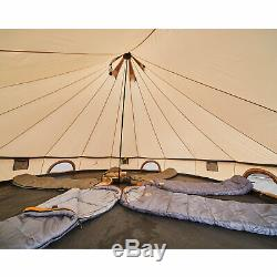 Grand Canyon Indiana 10 Person Family Tent Group Tent Tipi Wigwam Large