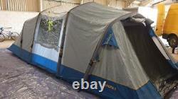 Hi Gear Airgo Mahora 8 inflatable eight berth person man camping air tent large