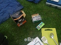 Kalahari 10 man tent, ideal Large Family Tent. With beds kitchen and lots more