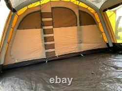 Kampa Croyde 6 Classic Air Polycotton Tent- Used only twice