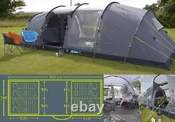 Kampa Watergate 8 (series 3) berth person man tent 2020 CT3061