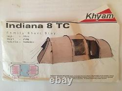 Khyam Indiana 8 TC Canvas Tent