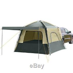 KingCamp 5 Person Camping Tents Vehicle SUV Car Waterproof Large Tent Outdoor