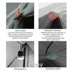 LANSHAN Ultralight Camping Tent 2 3F UL GEAR 3 Season Tent UV Resistance Tent
