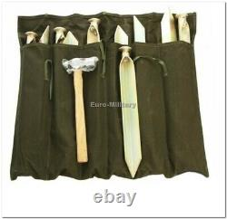 LARGE 11 Men Army Base Camp Military TENT 5x5m 100% PolyCanvas Factory New