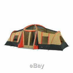 LARGE 3 Room Cabin Tent 10 Person 20'x11' Camping Hunting Outdoor Ozark Trail 4