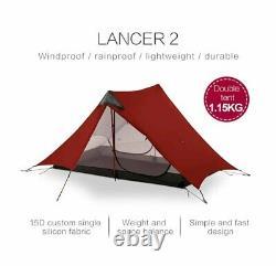 LanShan 2 3F UL GEAR 2 Person Outdoor Ultralight Camping Tent 3 Season