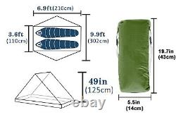 LanShan 2 Waterproof 2 Person 1 Person Outdoor Ultralight Nylon Camping Tent S3