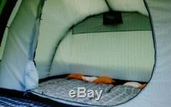 Large 4-6 Man 2 Room Inflatable Tunnel Tent With Extension
