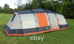 Large 6 Man tent, grey and orange, brand new, olpro martley 2.0