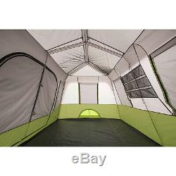 Large 9 Person Waterproof Instant 2 Room Tent Family Camping Outdoor Ozark Trail