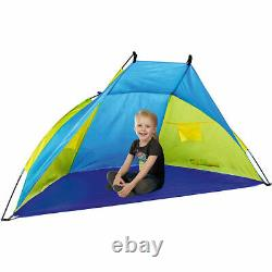 Large Beach shelter Tent Wind and Sun Protection-Water Resistant UV30 Protection
