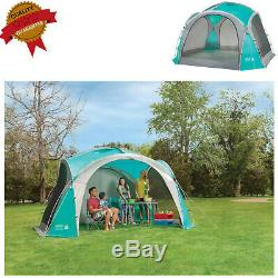 Large Event Dome Shelter 12x12ft Camping Outdoor Tent with Screen Walls Durable