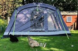 Large Family Air Tent & Starter Kit'Kampa Hayling 6 Air' 6 person Tent