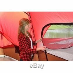 Large Family Camping Tent Height Air Bed All Season Big Storage 10 Person Cabin