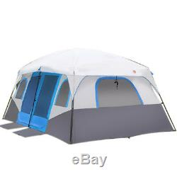 Large Family Camping Tents Waterproof Cabin Outdoor Tent 12 Person Event Marquee