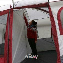 Large Family Camping Tents Waterproof Cabin Outdoor Tent For 8 10 12 Person New