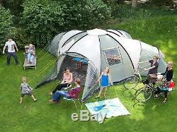 Large Family Tent Camping Outdoor 10 PERSON Hiking Spacious Large Camp 3 Rooms