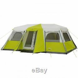 Large Instant Cabin Tent 12 Person Room Dividers Make 3 Rooms Camping