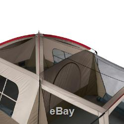 Large Instant Cabin Tent Outdoor Family Camping Screen Room 8-Person Waterproof