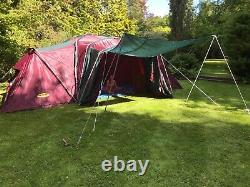 Large Khyam Rigi-Dome Espace Deluxe Tent 6 -8 berth Camping Dome Family Tent
