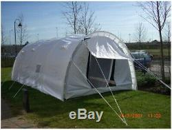 Large Tunnel Tent, Shelter, For Parties, Events, Camping, 4-8 Person, Heavy Duty