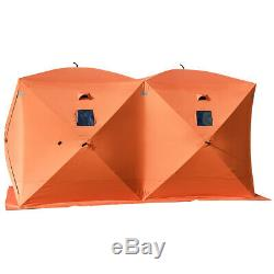 Large Waterproof 8 person Portable Night Fishing Tent Camping Hiking Shelters