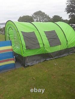Large dome tent can SLEEP 8 to 10 people COME WITH GROUND SHEETS AND PEGS