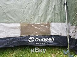 Large family Outwell Montana 12 Berth Tent
