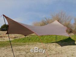 MSR VistaWing Bill Moss Tents Design LARGE Wing Shelter Tarp MINT