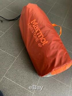 Marmot Limestone 4P Large Dome Tent (Orange Spice Colour)