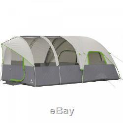 Modified Dome Tunnel Tent 16 X 8 8 Person Outdoor Camping Shelter Cabin Tent