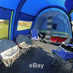 NEW Berghaus Air 8 inflatable family tent + carpet and footprint rrp £1140