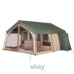 NEW Large Family Camping Tent 14 Person 2 Room Cabin Outdoor Lodge Easy Set Up