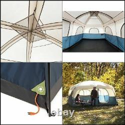 NEW Ozark Trail 14' x 10' Family Cabin Tent Sleeps 10 Outdoor Hiking Camping