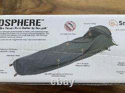 NEW Snugpak Stratosphere Bivvi Shelter Lightweight Waterproof 1 Man Tent Olive