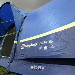 NEW boxed Berghaus Air 6 family tent 6 person waterproof 6000HH RRP £850