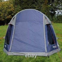 New Eurohike Air 400 Quick Assembly Weatherproof 4-Person Tent