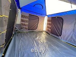 New Large 6 Man Metal Frame Tent
