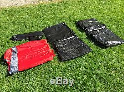 New Large 6 Person Man Family Dome Tent Mosquito Mesh Camping with THREE Rooms
