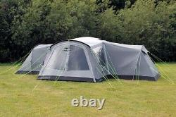 New Outdoor Revolution Camp Star 1200 Air 12 Berth Large Inflatable Tent Bundle