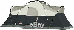 Nice Tent Camping Coleman 8 Person Pop Up Weatherproof Durable 16' x 7' x 6