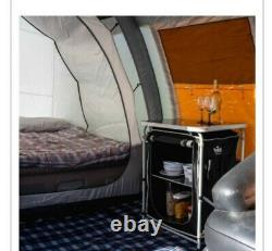 OLPro Wichenford Breeze Inflatable Tent 8 Berth Tunnel FamilyTent