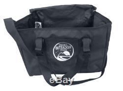Outbacker Firebox Vista- Large Window Portable Tent Stove Free Bag