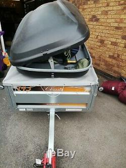 Outwell 6 man tent / large Trailer/ roof box plus equipment