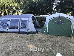 Outwell Corvette 7ac air tent 2016 large family tent