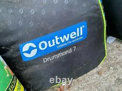 Outwell Drummond 7 Tunnel Tent, fits 7 people