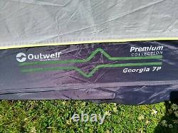 Outwell Georgia 7p Large Family Pole Tent