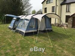 Outwell Indiana 8, 8 Person Large Family Steel Framed Tent