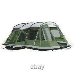 Outwell Montana 6 person Tent With Front Awning Attachment Green Camping Large